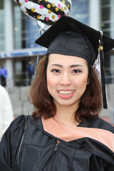 Ha's UMass Graduation - May 13, 2017