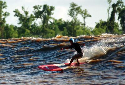 Pororoca - Amazonian Tidal Bore Surfing