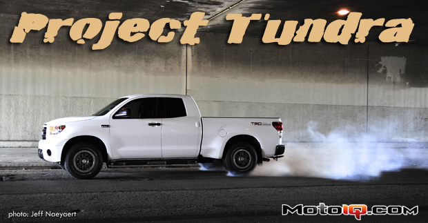 Project Toyota Tundra- Installing and testing the TRD Supercharger Part2