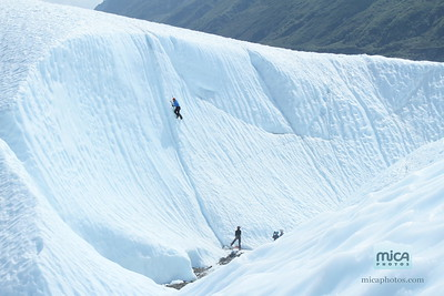 July 15 - Ice climbing with Scott