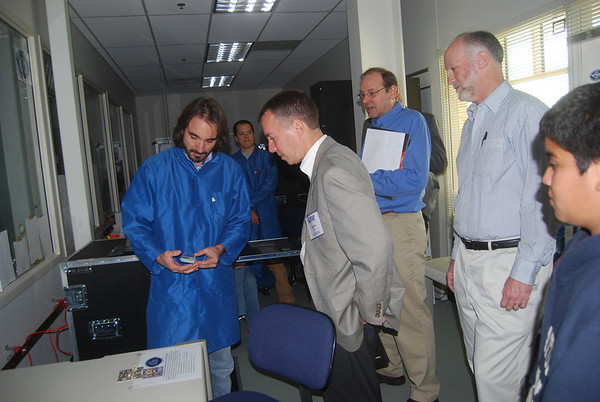 NASA visit to LASP, April 27, 2011