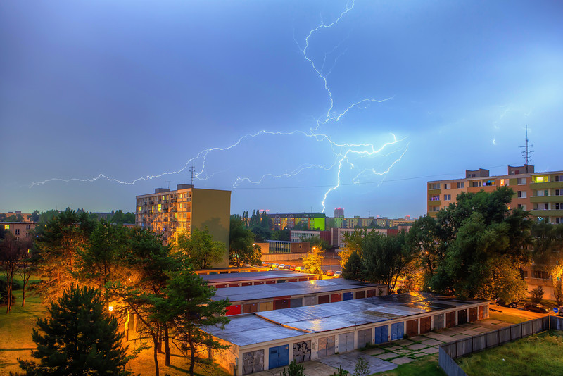 Where the lightning strikes One taken just today :)