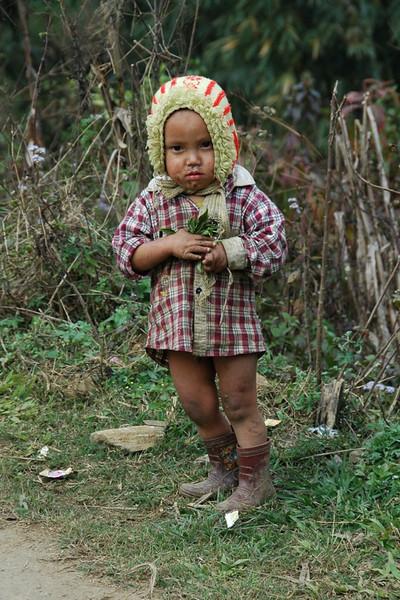 Boy in Boots - Sapa, Vietnam