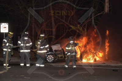 Copiague F.D. MVA with Signal 14    Great Neck Rd. and Sunrise Hwy. 1/31/18