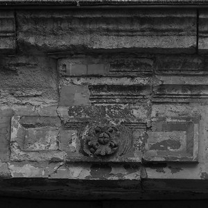 Ancient door lintel, Paris 11eme