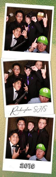 Rockingham SHS Ball 2019 Photostrips
