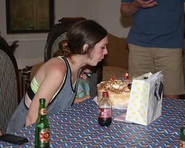 Megan's 25th Birthday - 2015