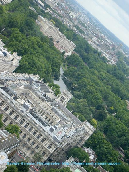 Buckingham Palace View from London Eye
