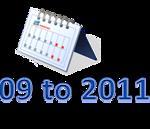2009 to 2011