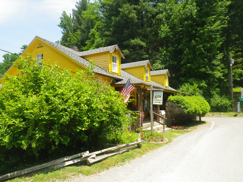The Hutte House Restaurant in Helvecia WV.  Authentic Swiss food in a hidden part of the state.