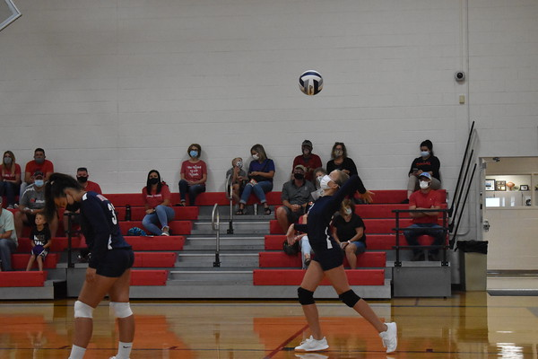 7th grade volleyball vs Waverly