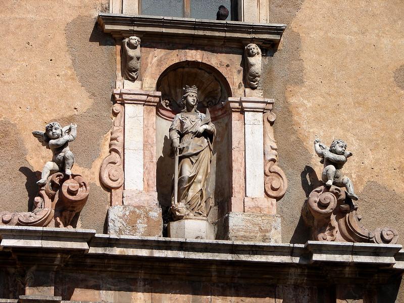 Taormina - Saint Catherine's Church