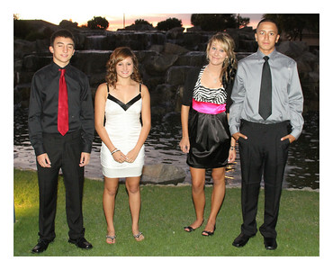 Nate and Friends Homecoming Dance