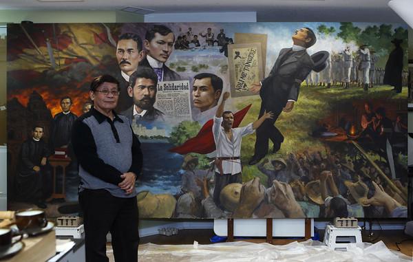 Sulyap sa Sining-Saysay Mural ni Romi Mananquil