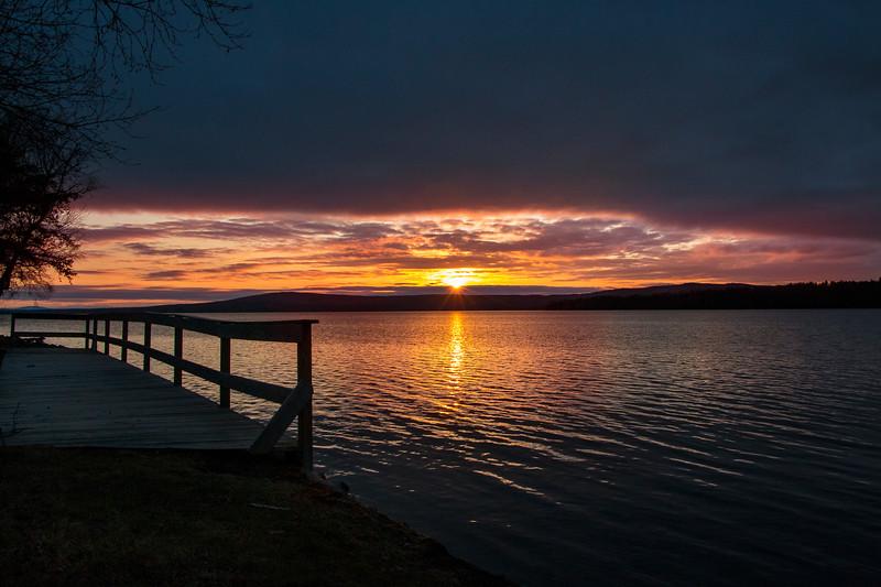 Sunset at Bald Mountain Camps