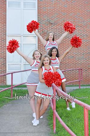 2019 OHS Freshman Cheerleaders