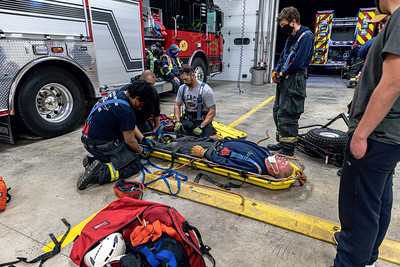 4-13-2021 Rope Rescue Drill