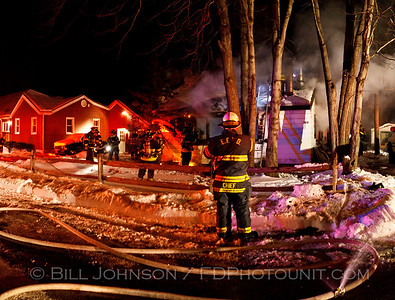 Structure Fire - East Fishkill Fire District - Fairview Road - 1/17/11