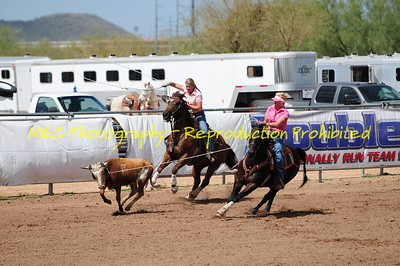 Hooters All Girl Championship Saddle Roping