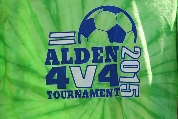 2015 Alden 4V4 Soccer tournament