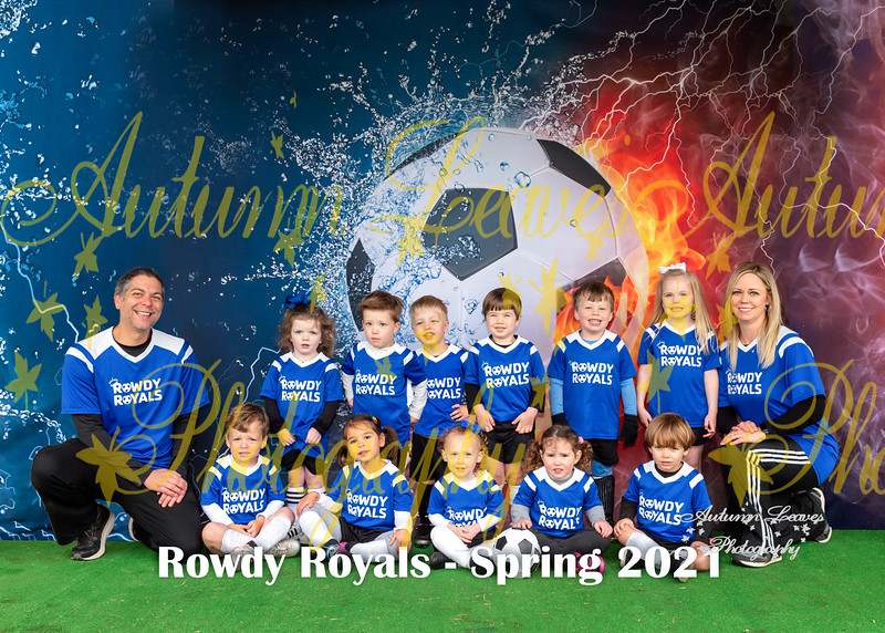 20210417 - # M1 Rookie Rowdy Royals - Coach Edwards