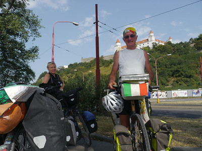 So 4.8.13, Tag 9: Bratislava (SK) - Raintal (A) - Lednice (CS), 100,5km