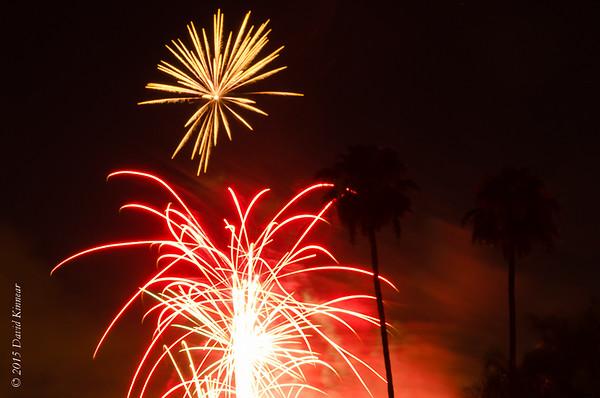 Lake Forest Fireworks 2015
