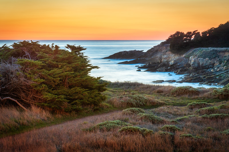 Ballast Sunset, Sea Ranch, California