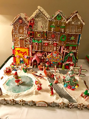 Gingerbread Contest Entries 2017