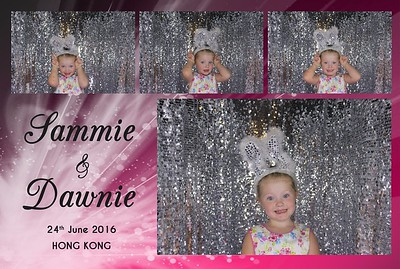 Sammie & Dawnie 25th June 2016