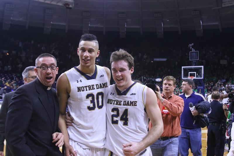 #8 Notre Dame defeats #4 Duke