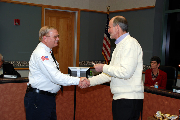 2014-02-06 Police Swearing In and Employee Service Awards