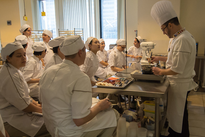 The third school; French Pastry School
