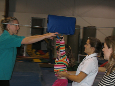November 13, 2004 photos (Wow, it snowed here in Massachusetts on Nov. 12. Check out Hailey's new gymnastics class and fun in the snow.)
