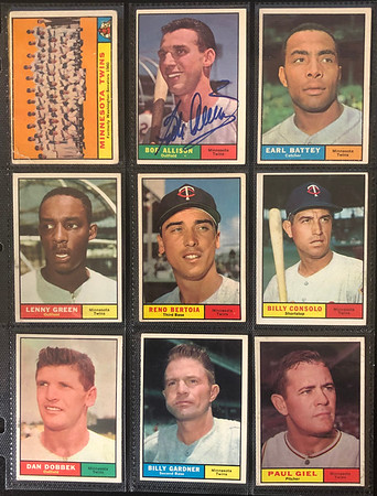 Twins Team Set Collection