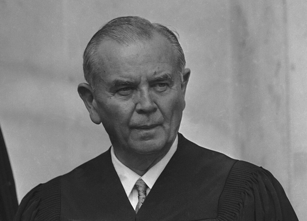 . Associate Justice William J. Brennan Jr. of the U.S. Supreme Court is pictured, Oct. 9, 1970.  (AP Photo)