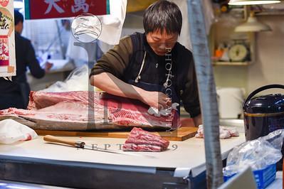 Tsujiki Fish Market Tokyo 2016