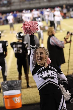 HHS Cheerleaders, 10/9/2020