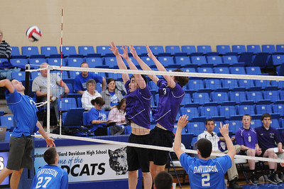 2014 Varsity Volleyball vs. Hilliard Davidson