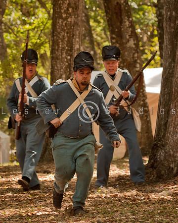 Ft Cooper Seminole War Reenactment 2012