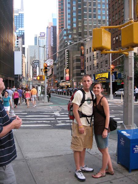 2010 July 1 Jim, Peg, Dustin & Erinn in NYC