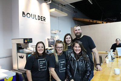 10/13/2018 Boulder Coffee grand opening