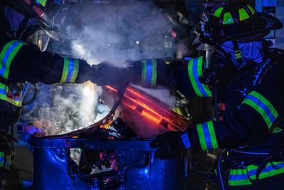 Kittredge Circle - Garage Fire