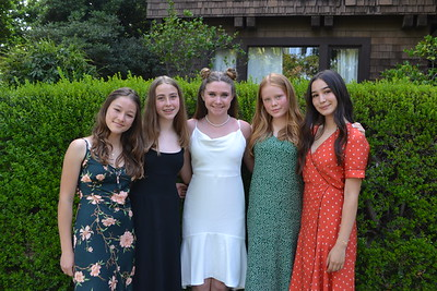 Sequoyah School 8th-Graders Enjoy Graduation
