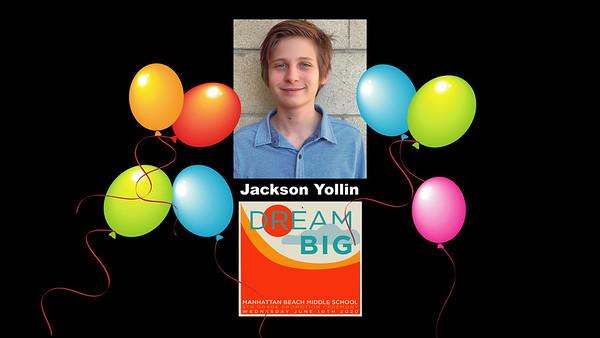 Jackson's Virtual 8th Grade Promotion