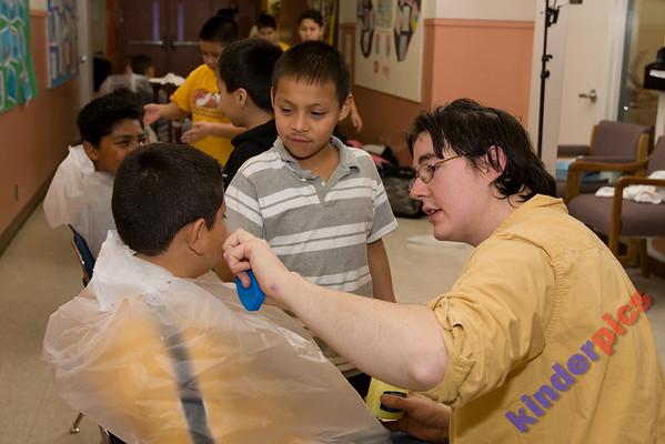 NWCT Outreach 2008: Davis Elementary Mask Making