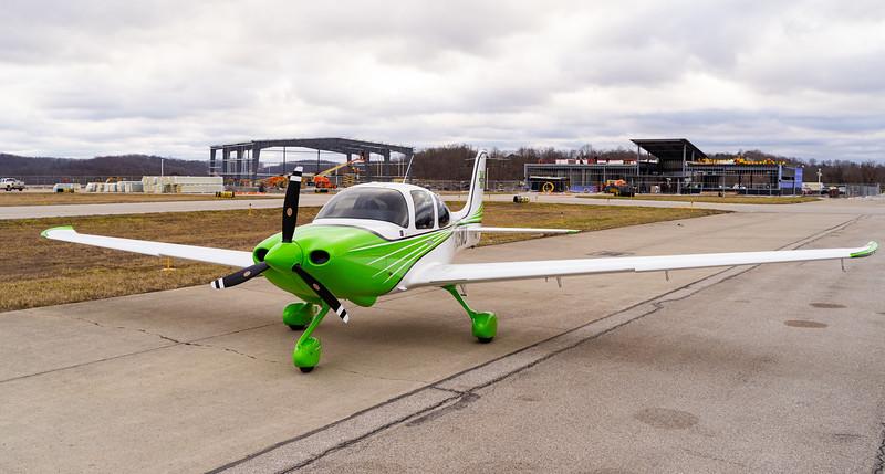 1.21.21 Flight School Plane and Flight School Construction