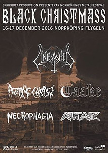 VANHELGD -  Black Christmass 2016