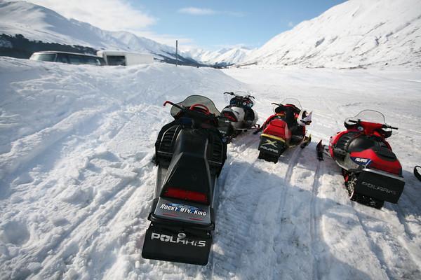 Turnagain Pass Snowmachine Tour - Alaska