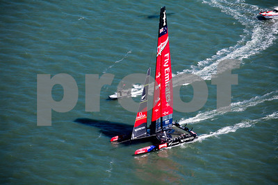 America's Cup Boat Race in San Francisco